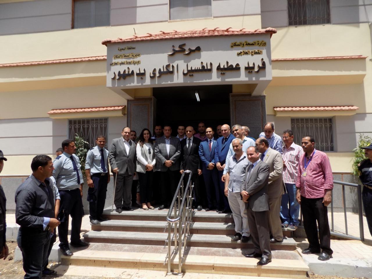 بالصور .. محافظ البحيرة يستعرض إنجازات الدولة على أرض محافظة البحيرة فى قطاع الصحة .