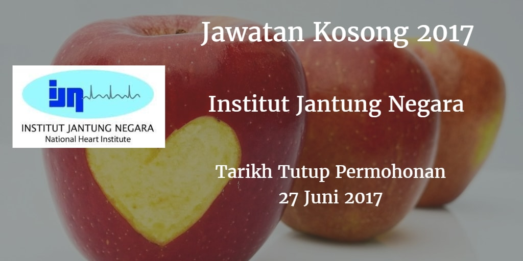 Jawatan Kosong IJN 27 Juni 2017