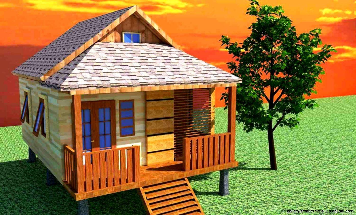 model rumah kampung sederhana 3