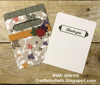 Pocket Card Tutorial - FREE with Purchase