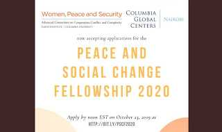 Peace and Social Change Fellowship 2020 for Women Grassroots Activists in Africa | Funded to Nairobi, Kenya