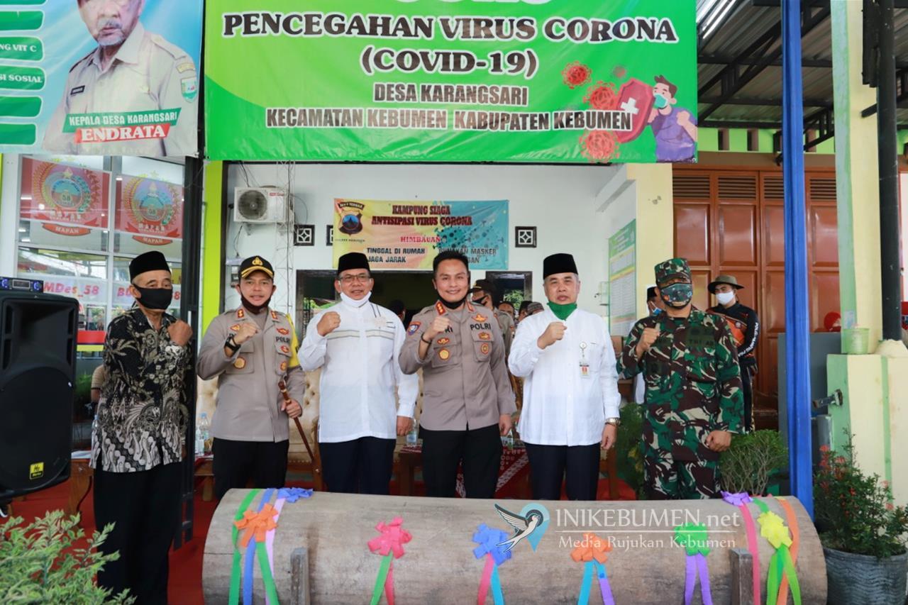 Pertama di Kebumen, Desa Karangsari Dicanangkan jadi Kampung Tangguh Nusantara