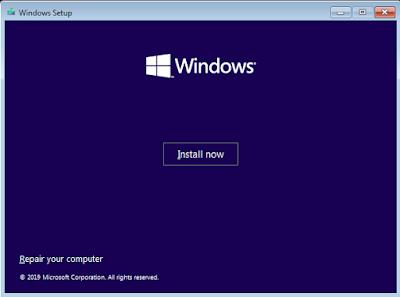 Install Windows 10 Pemula - Install Now