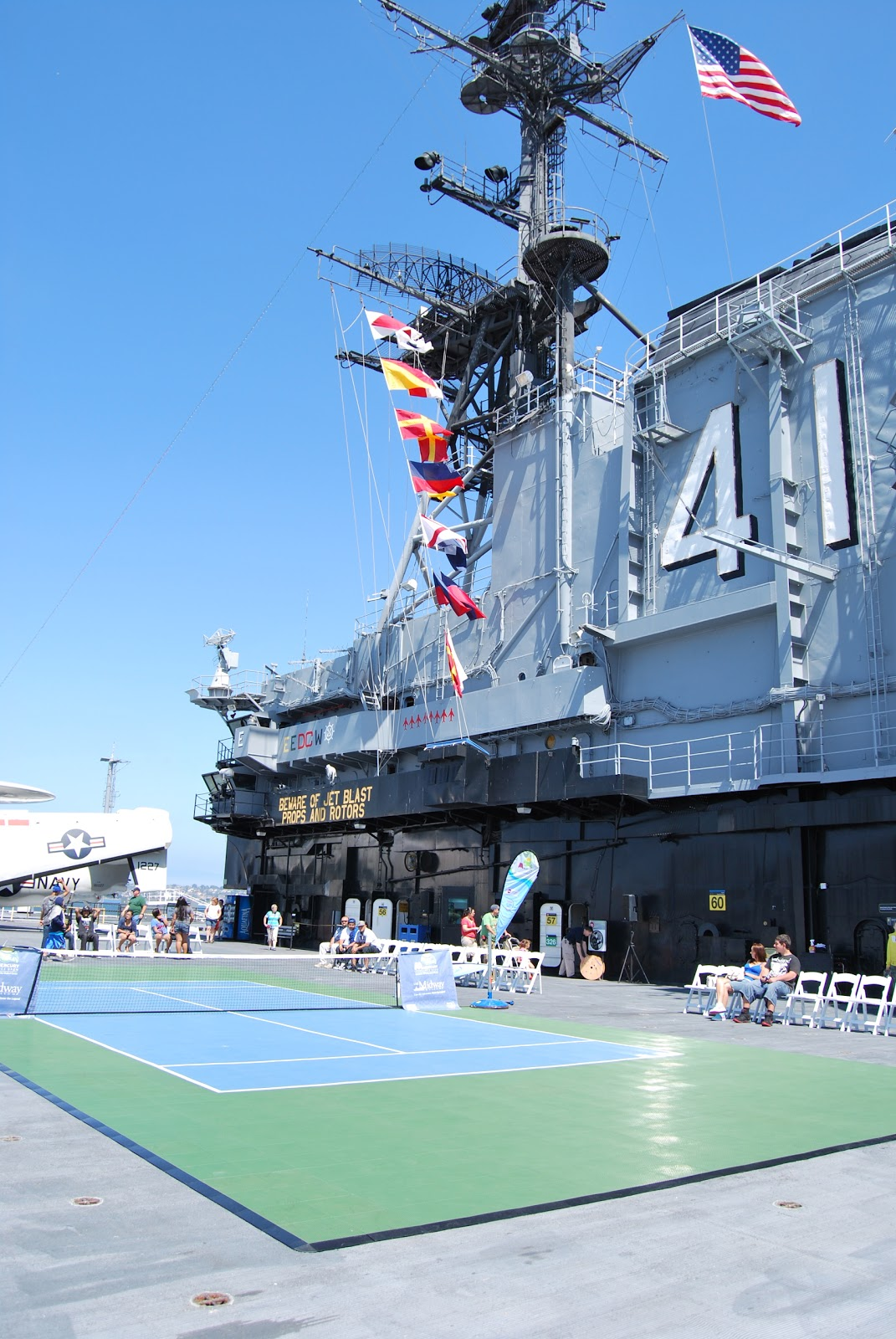 Mercury Home Insurance >> Sport Court of Southern California: Tennis on the USS ...