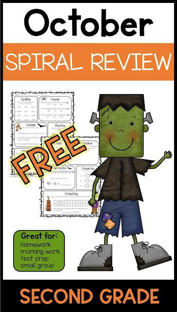 Halloween worksheets for second grade