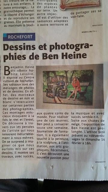 L'artiste Ben Heine dans Le Vlan - 2016