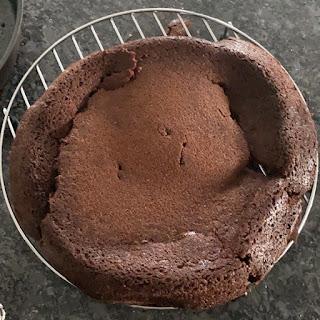 Gâteau de Nancy craquelant