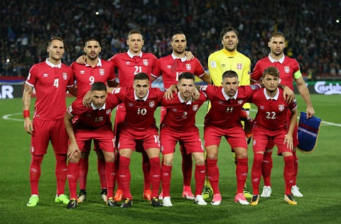 Serbia đã trở lại World Cup sau 8 năm không dự bất kỳ một giải đấu