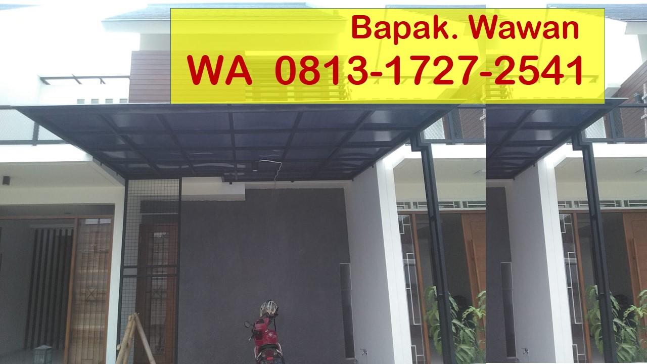 Kanopi Baja Ringan Tangerang Wa 0813 1727 2541 Pasang