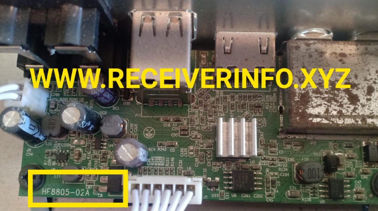 HF8805-02A GX6605S  BOARD TYPE ORIGINAL DUMP FILE SOFTWARE