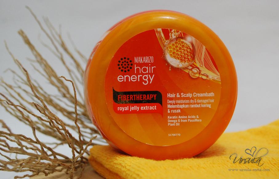 Review Makarizo Hair Energy Fibertherapy Hair Scalp Creambath Ursula Meta Rosarini