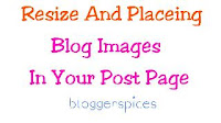 How to Resize Image  Blogger