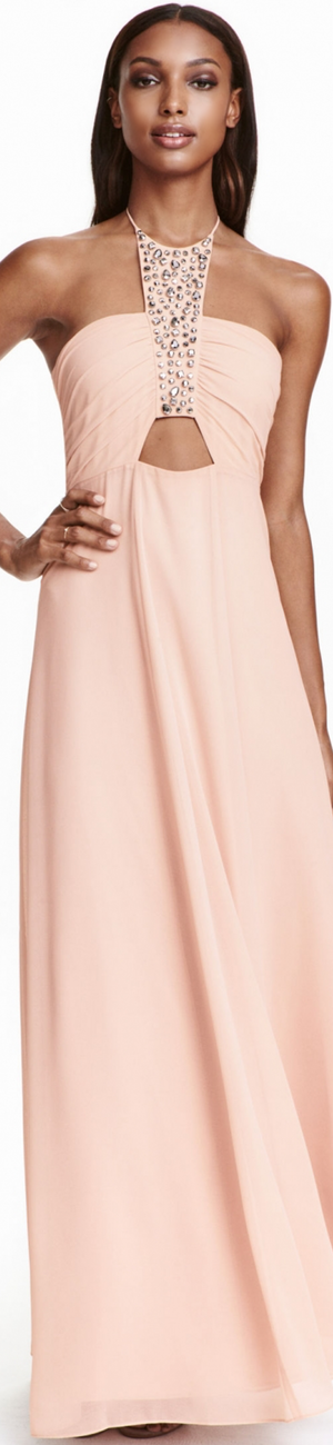 H&M Crêpe Maxi Dress