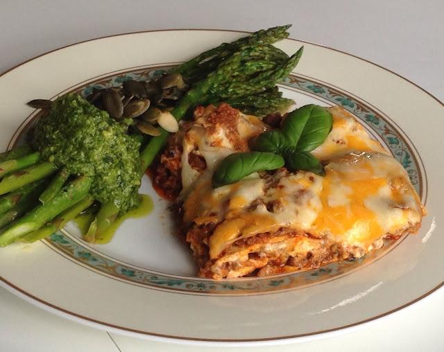 Opskrift på lowcarb lasagne med hjemmelavet mornaysause på CDJetteDCs LCHF