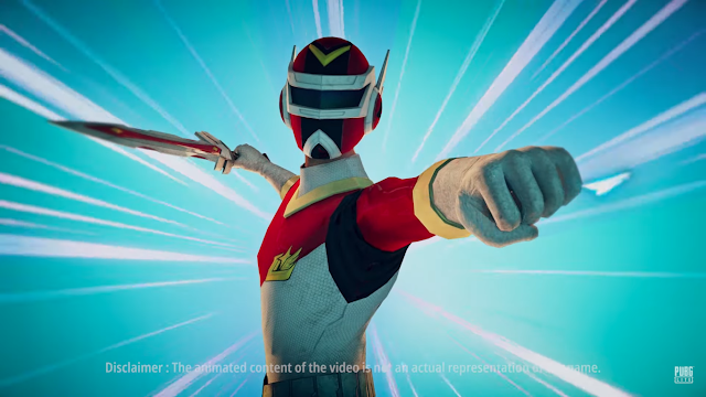 Power Ranger Masuk PUBG! Full Squad Kostum Rangers Super Lite