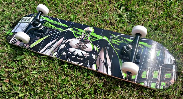 Base of the Tony Hawk Skateboard