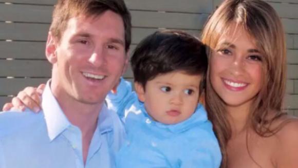 Nasce segundo filho de Lionel Messi e Antonella Roccuzzo
