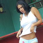 Andrea Rincon, Selena Spice Galeria 33: Gorra Azul, Cachetero Azul Foto 66