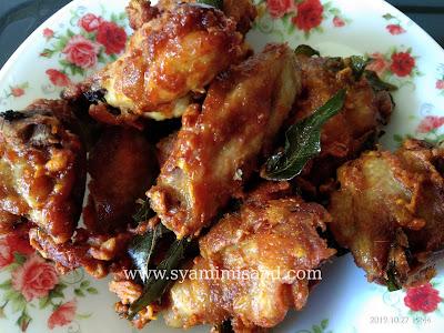 Resepi Ayam Goreng Rangup.