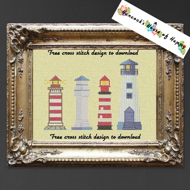 Nifty Free Lighthouse Cross Stitch Pattern