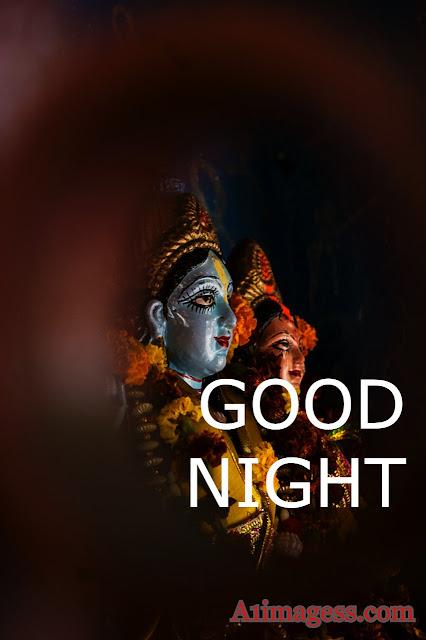 Radha Krisha Good night images