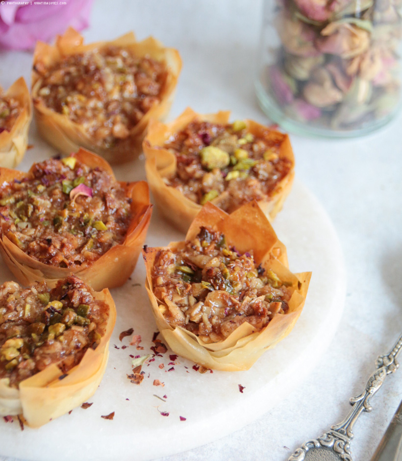 Mini Baklava Cups
