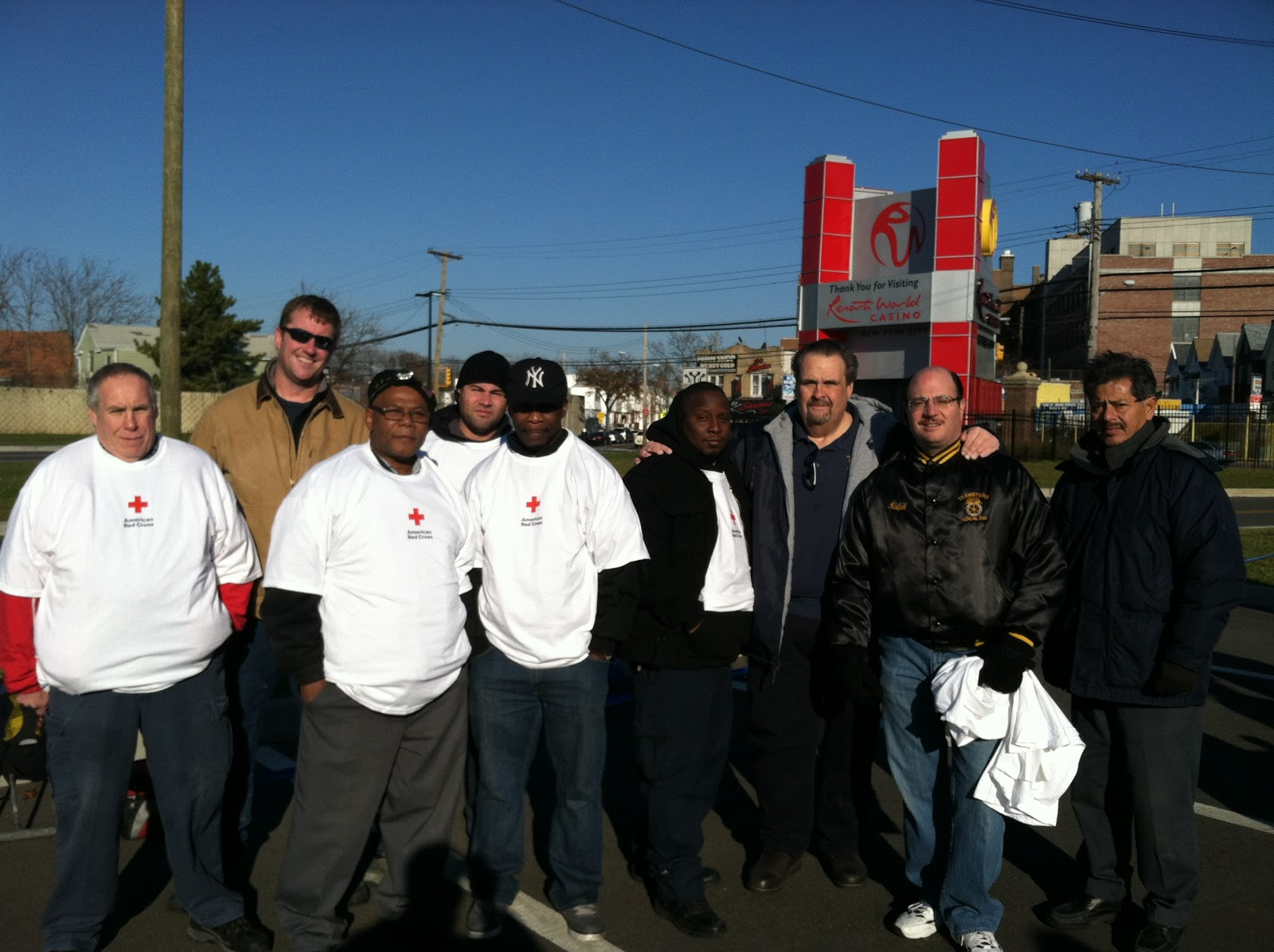 Teamster Nation: Sandy relief: Teamsters blanket NY region