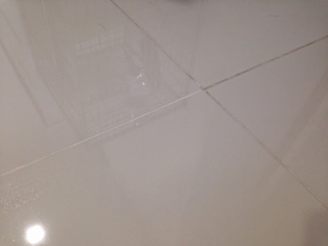 Cleaning Homogeneous Tile Grout A Homemaker S View