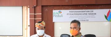Penyerahan Bantuan CSR PT. PLN (Persero) UPTK Tarakan