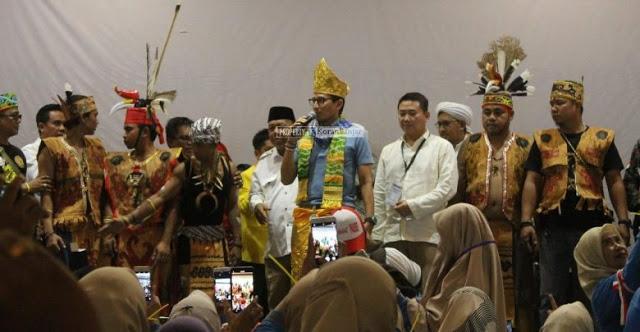 Ingin Ada Perubahan, Dayak Kalimantan Bersatu Dukung Prabowo-Sandi