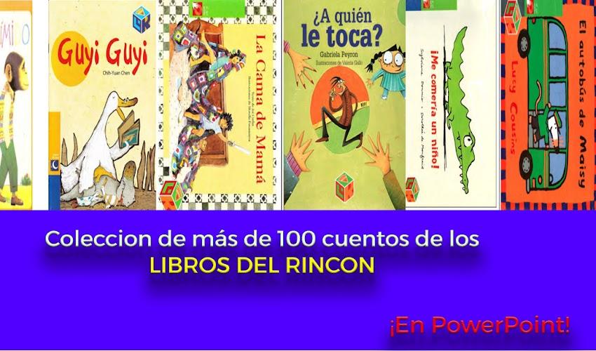 Más de 100 cuentos de libros del rincón en PowerPoint