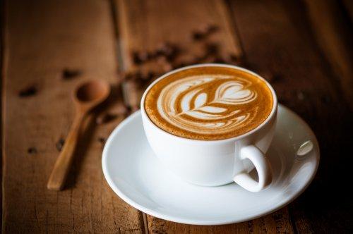 Gambar secangkir kopi