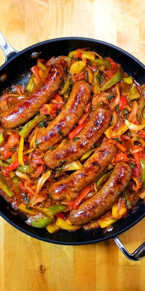 Italian Sausage Peppers and Onions Recipes