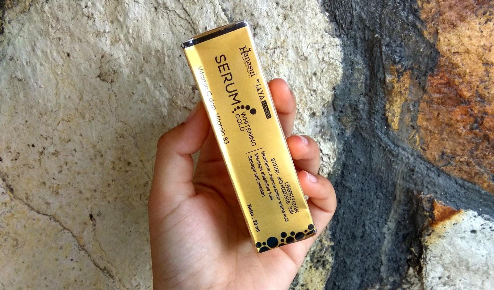 Foto Produk Beauty Queen Malang Album Serum Dan Toner Hanasui Gold Bpom Original Whitening Jaya Mandiri