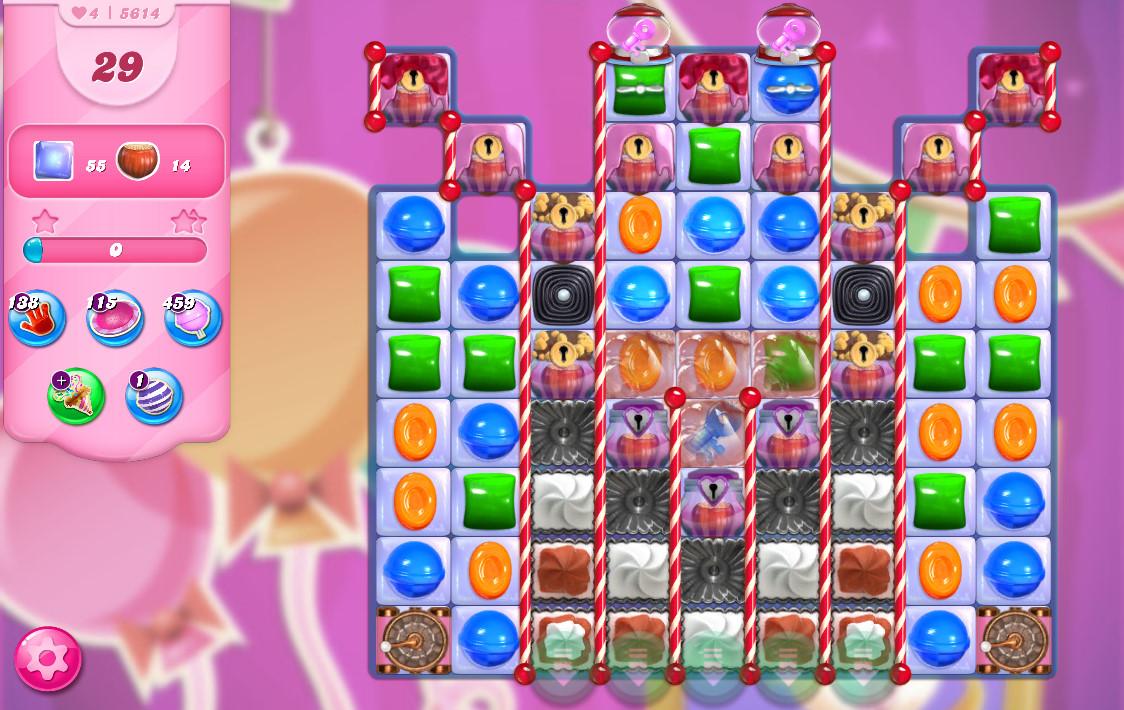 Candy Crush Saga level 5614