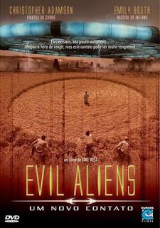 Evil Aliens: Um Novo Contato Dublado Online