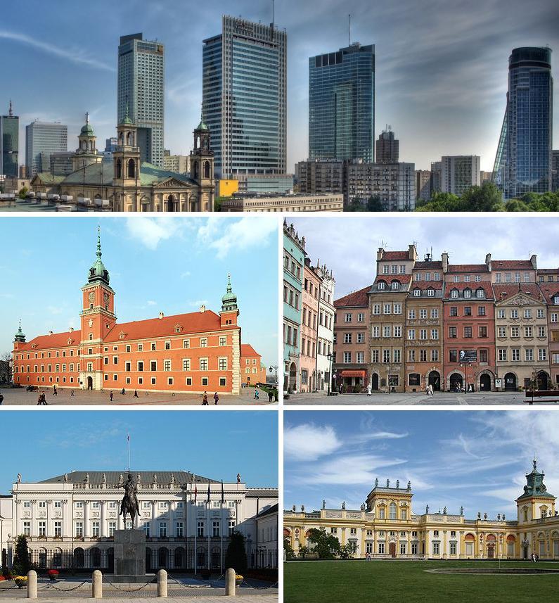 Warschau Hauptstadt
