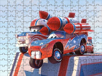 Cars toon Puzzle