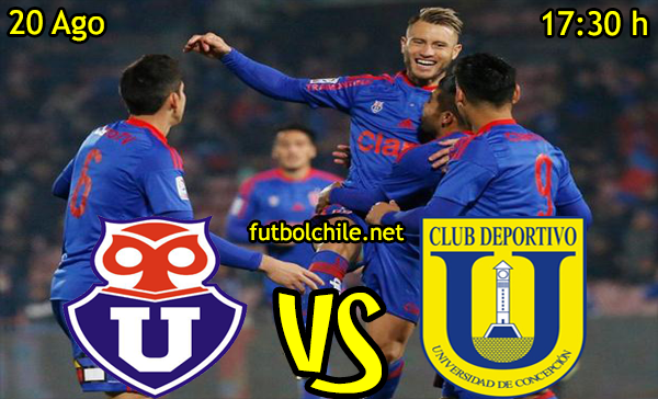 Ver stream hd youtube facebook movil android ios iphone table ipad windows mac linux resultado en vivo, online: Universidad de Chile vs Universidad de Concepción