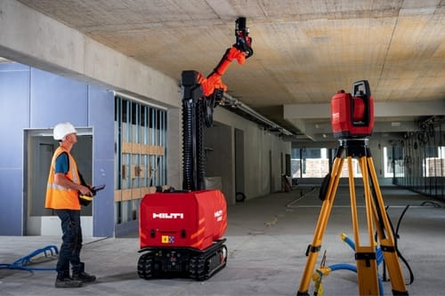 Robots enter construction projects in the UAE
