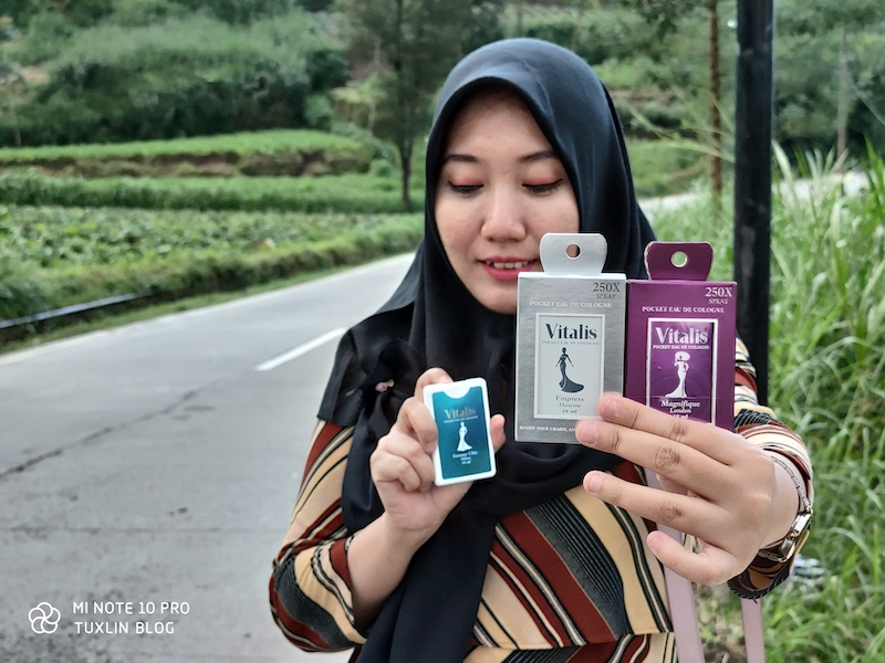 Review Vitalis Pocket Eau De Cologne, Harum dan Praktis