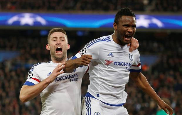 Watch one of the very memorable moments of Mikel's career at Chelsea