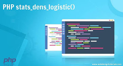 PHP stats_dens_logistic() Function