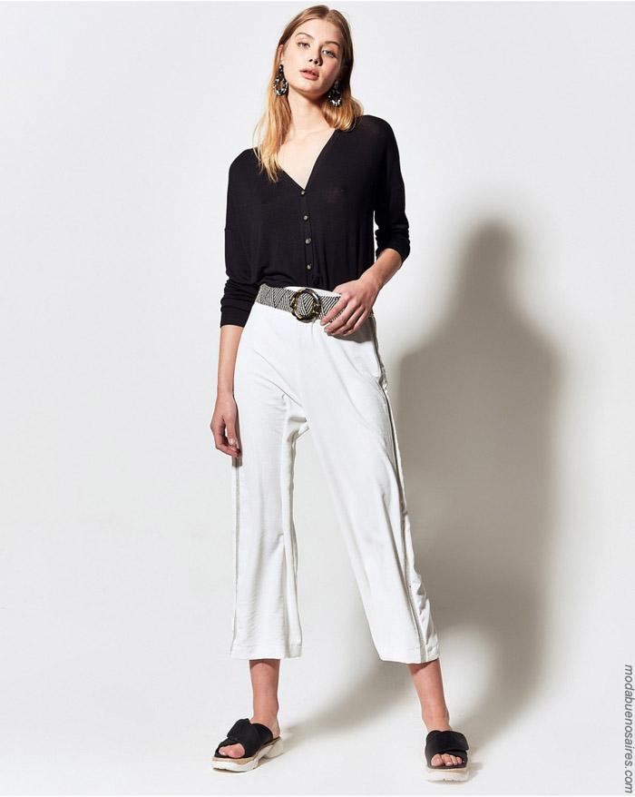 Sacos ligeros y pantalones primavera verano 2020.