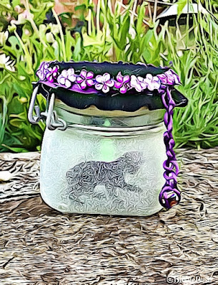 Crafting With Cats Magical Kitty Lantern @BionicBasil®