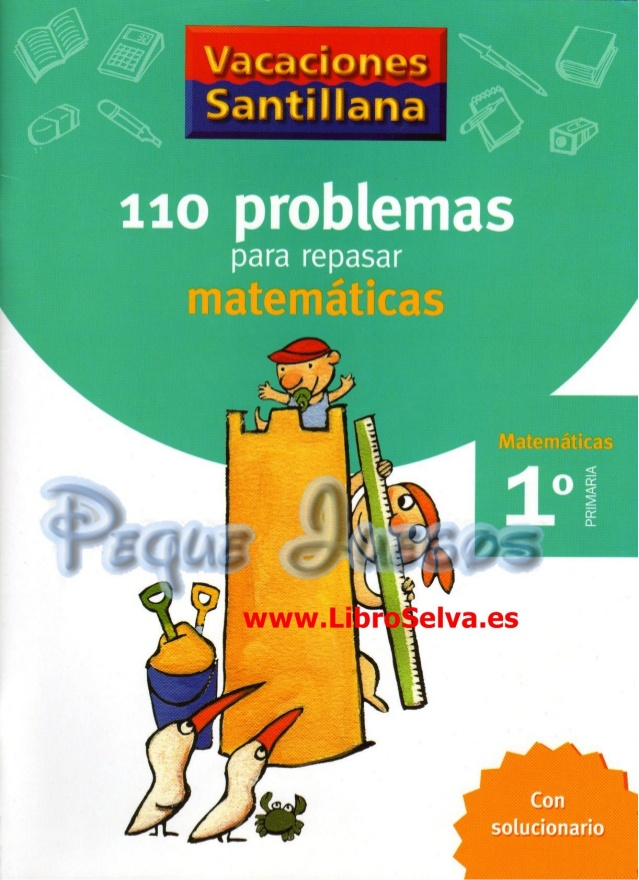110 Problemas para repasar matemáticas