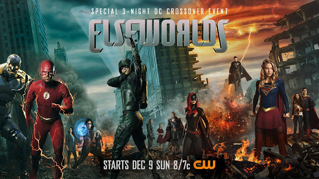 CW Elseworlds crossover poster