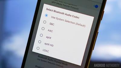 Audio Codecs Android O