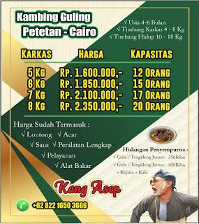 Harga Paket Kambing Guling Lembang 2021,kambing guling lembang,kambing guling,harga kambing guling lembang,