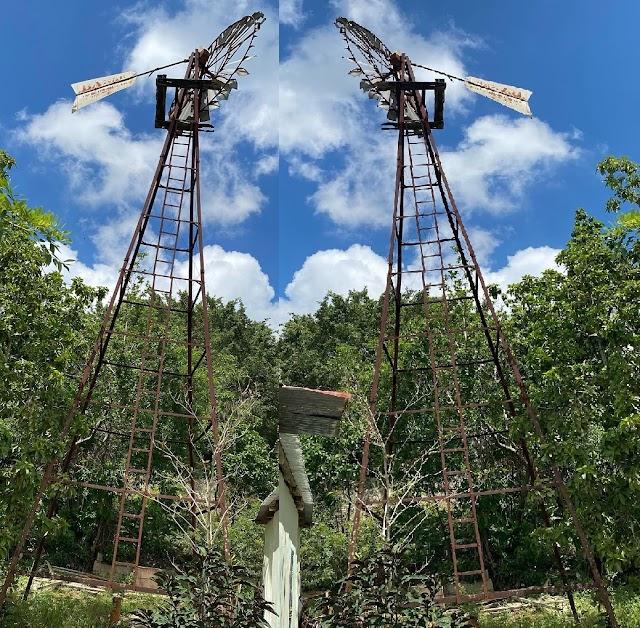 En Nigua Tamboril quedan las ruinas del molino de viento para bombear agua
